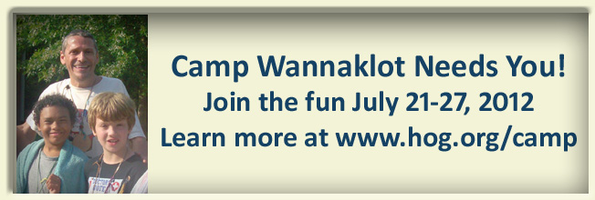 Camp Wannaklot Counselor ad 2012