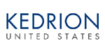 Kedrion blue text logo