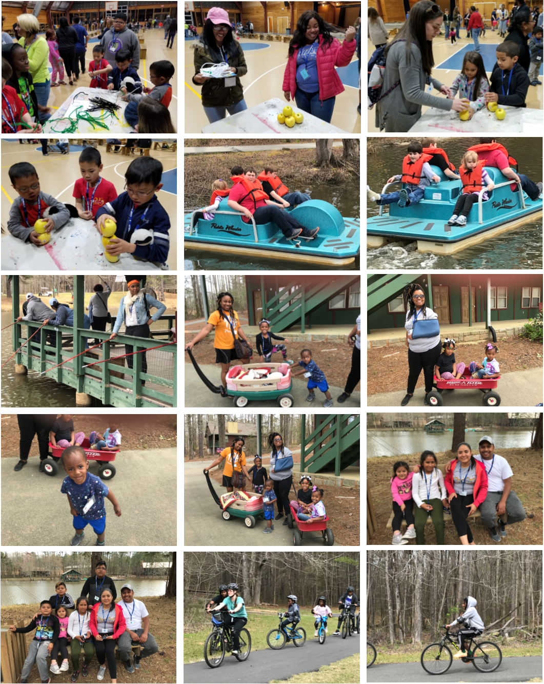 Family Camp Collage 1