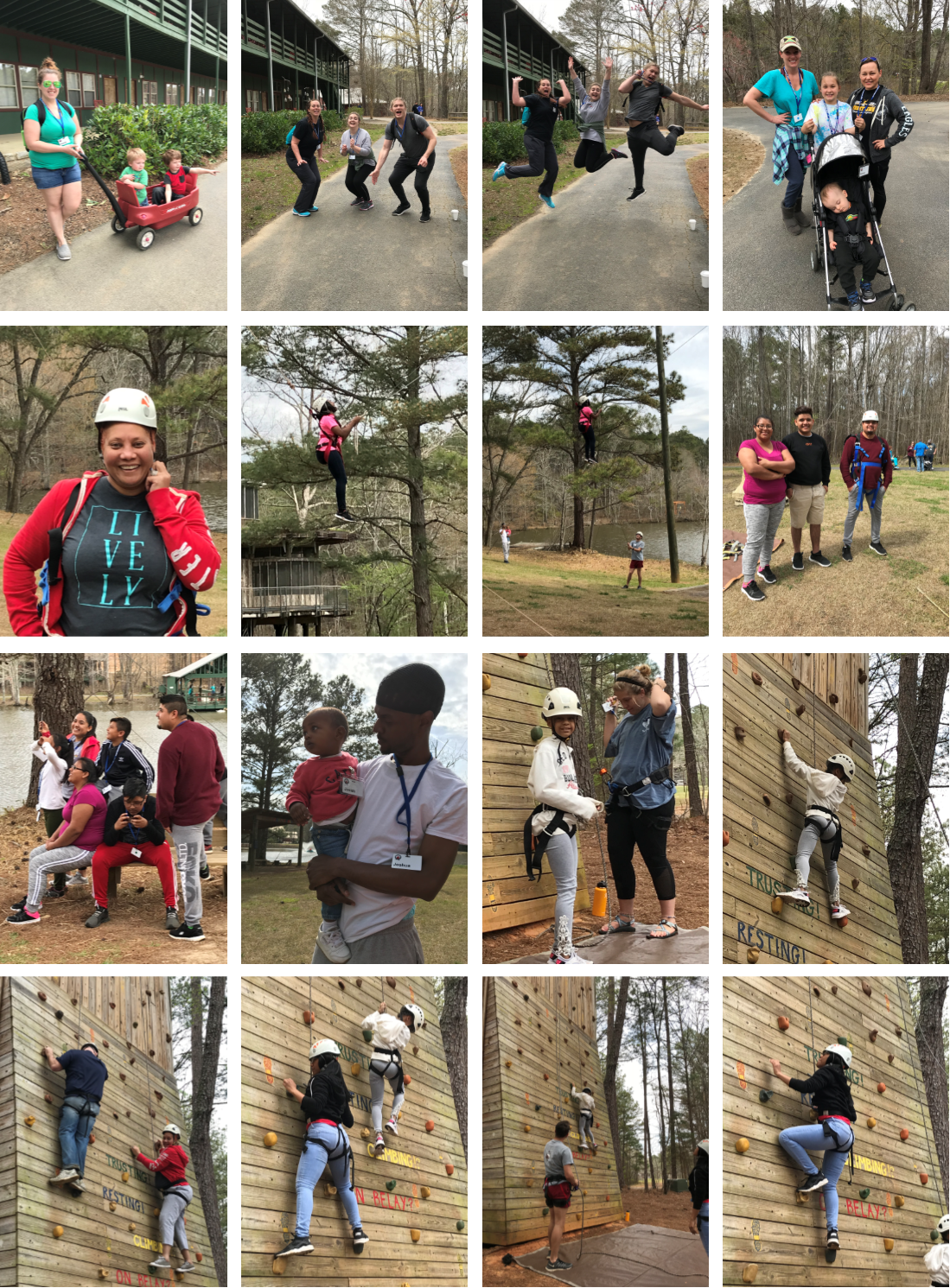 Family Camp Collage 4