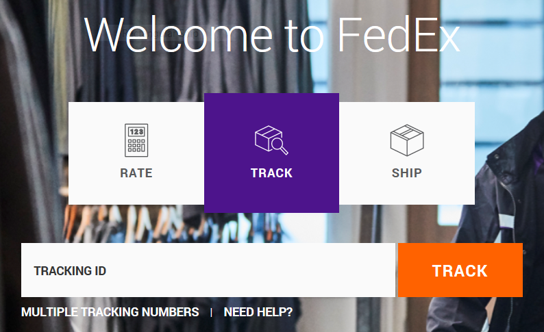 FedEx Tracking Graphic