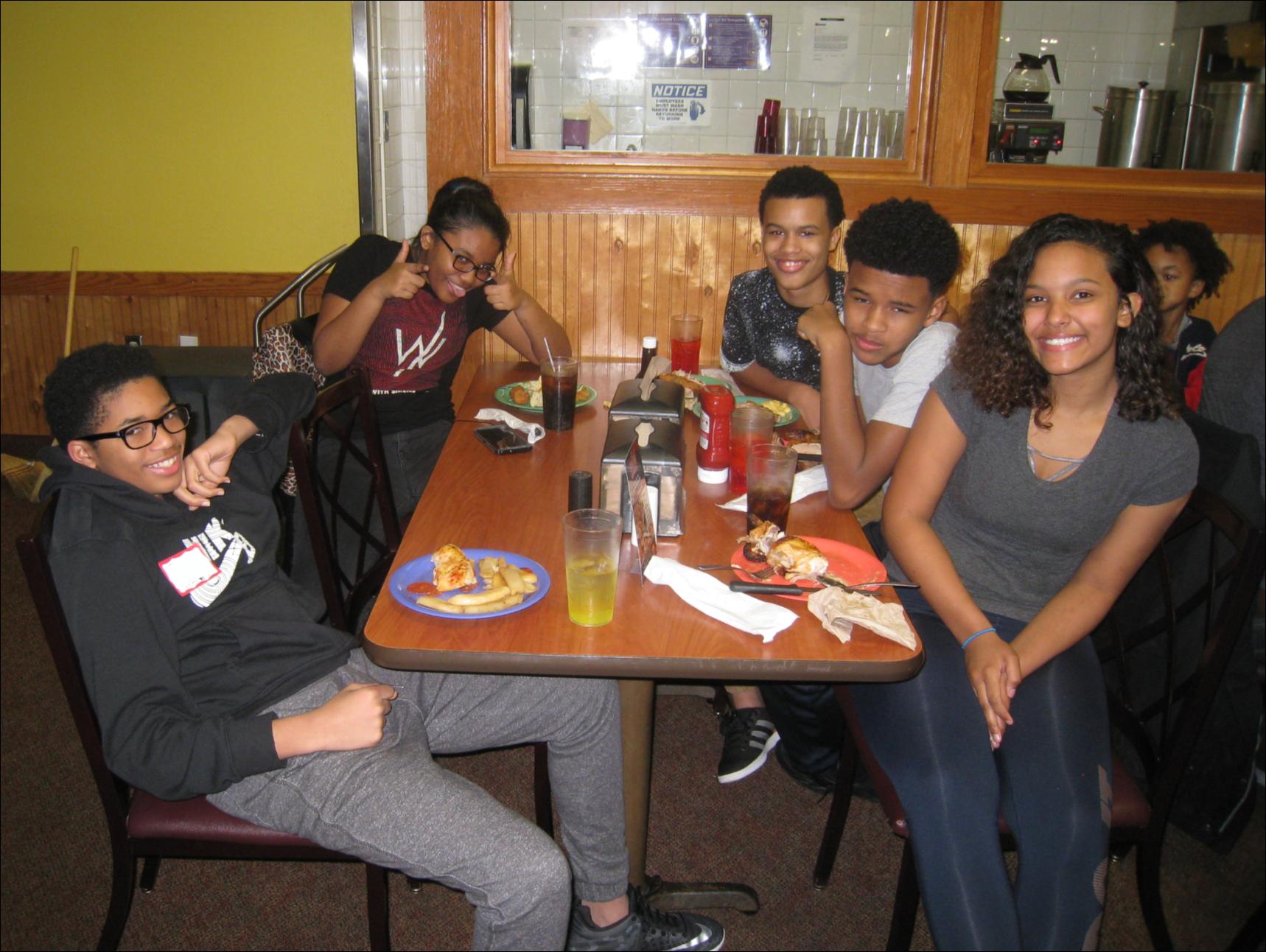 Lawrenceville Family Dinner 5
