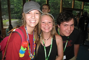 HoG Volunteers Counselors at Camp Wannaklot