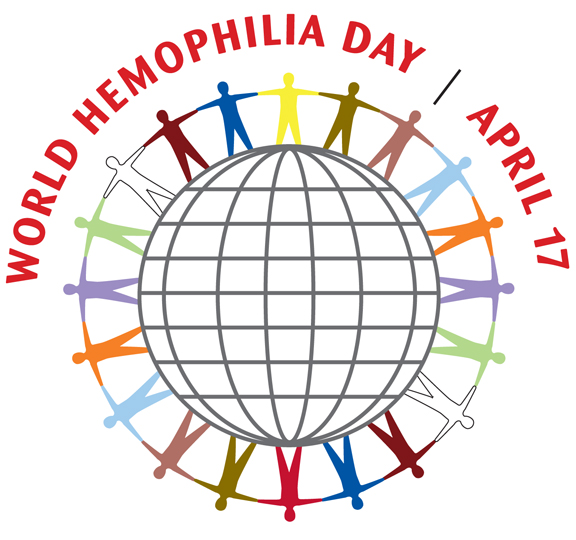 Light it Up for World Hemophilia Day