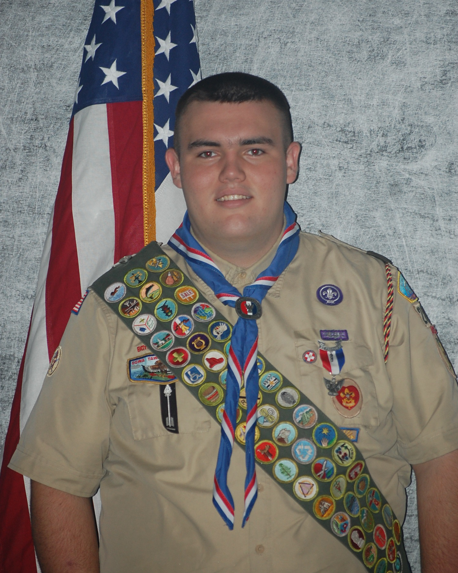 Malachi becomes and Eagle Scout