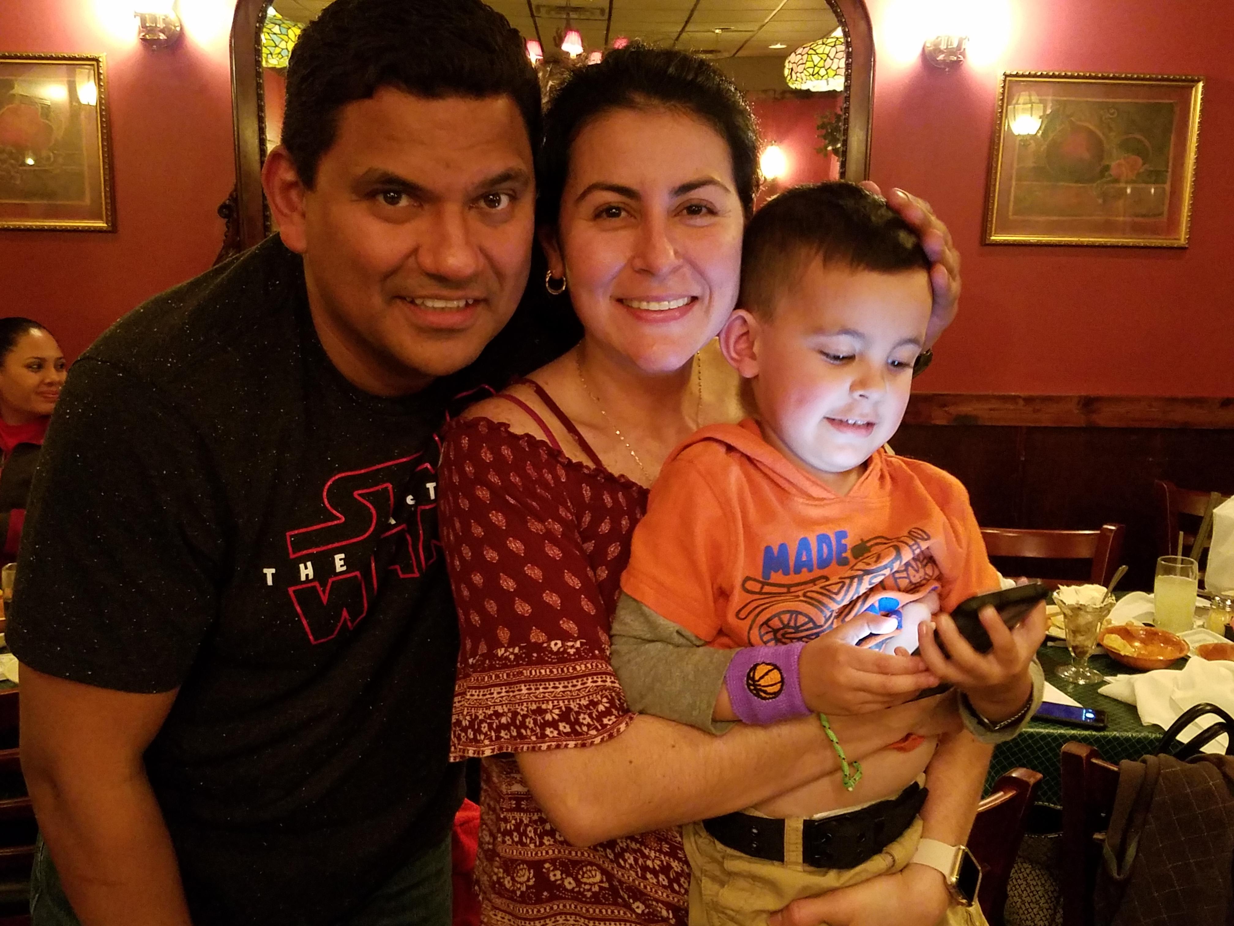 Canton Community Dinner Family