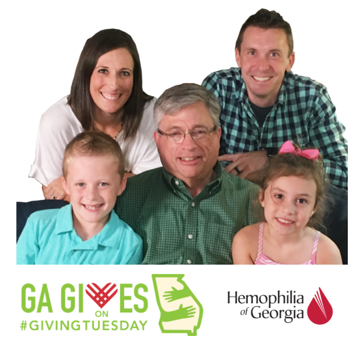 Georgia Gives on Giving Tuesday Brooke and her family