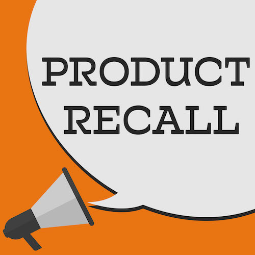 Product Recall text